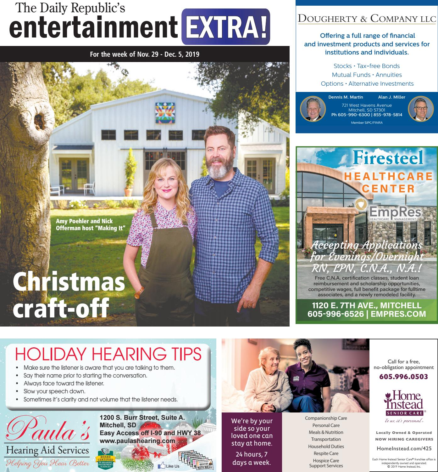 Amy Laughlin Csi Miami mitchell tv guide 11/29-12/05the daily republic - issuu