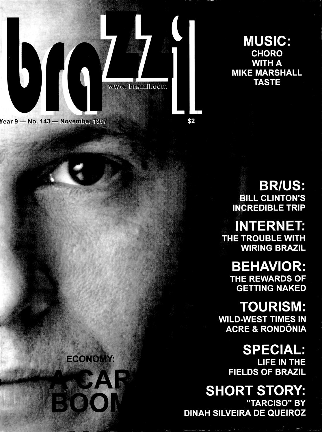 Brazzil Year 9 Number 143 November 1997 By Brazzil Magazine