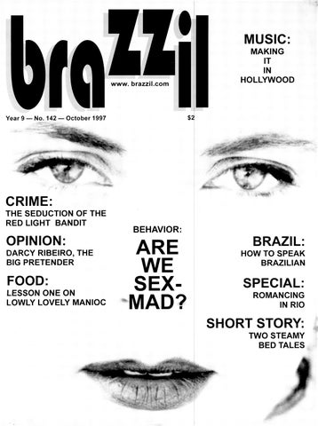 Brazzil Year 9 Number 142 October 1997 By Brazzil Magazine