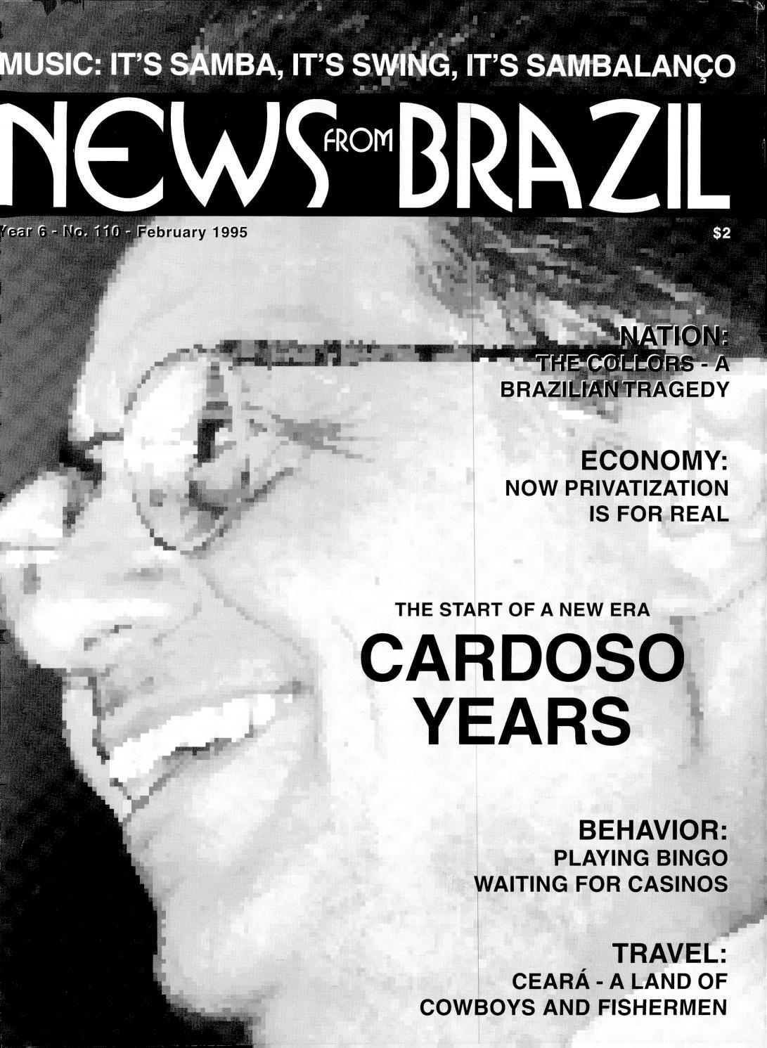 Brazzil - Year 6 - Number 110 - February 1995 by Brazzil Magazine - issuu