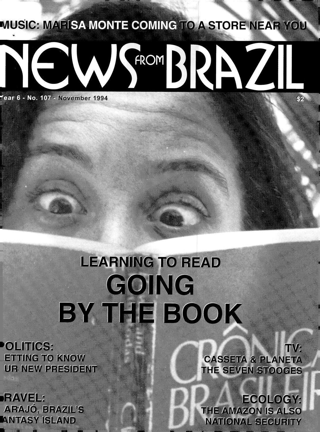 Brazzil Year 6 Number 107 November 1994 By Brazzil Magazine