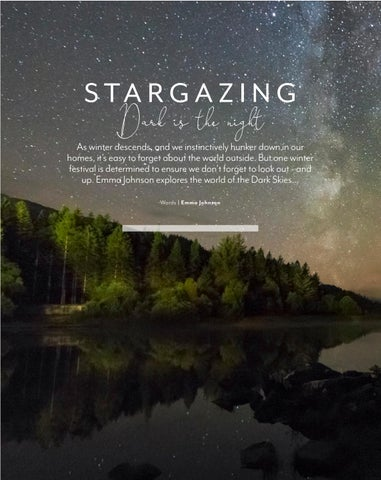 Page 40 of Star Gazing - Dark is the night