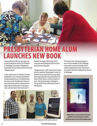 Page 4 of PRESBYTERIAN HOME ALUM LAUNCHES NEW BOOK