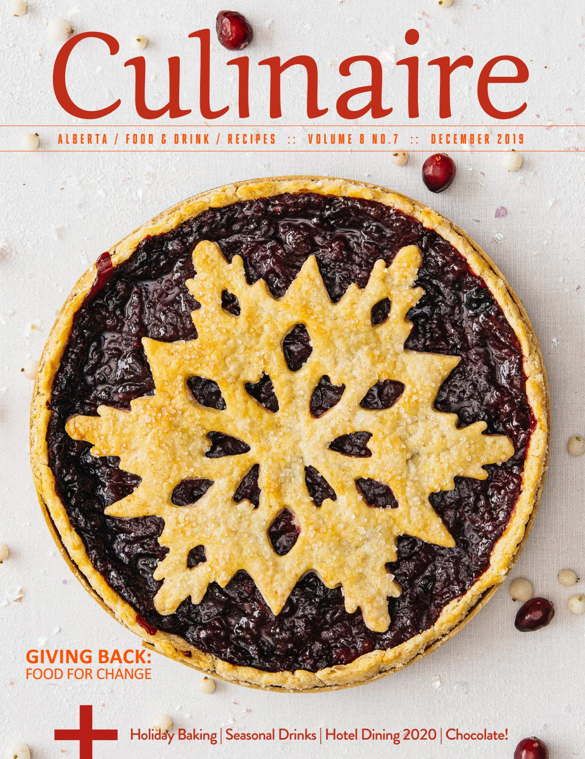 Culinaire 8 8 December 2019 Pdf By Culinaire Magazine Issuu