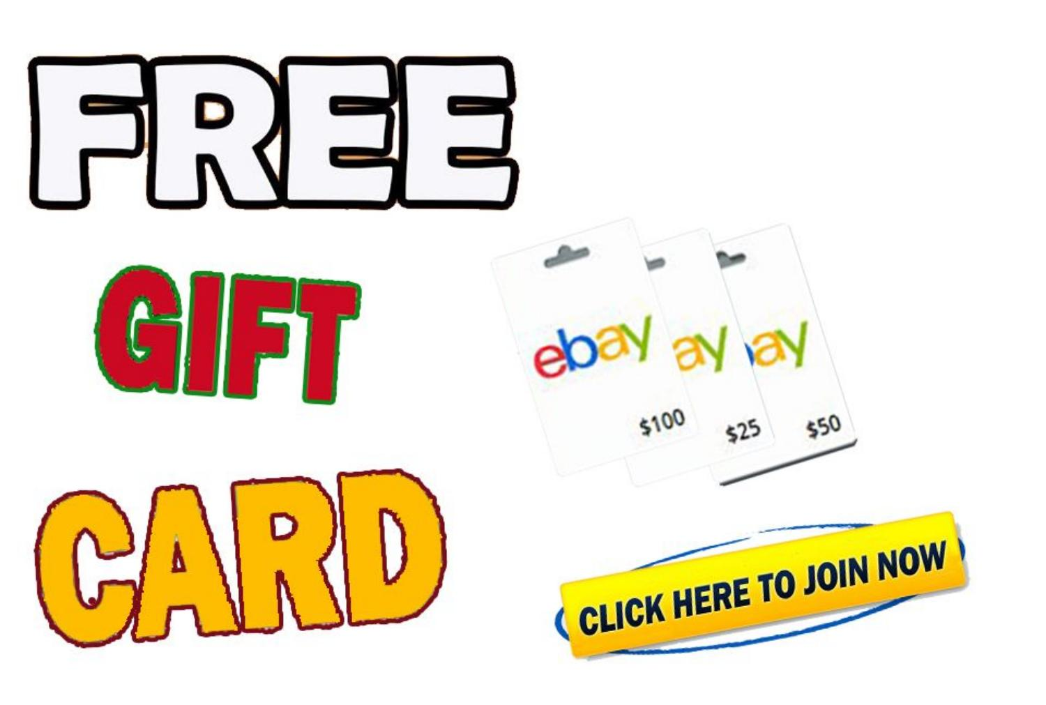 Free Ebay Gift Card 2020 Easy 50 Ebay Gift Card By Giftcards2020 Issuu