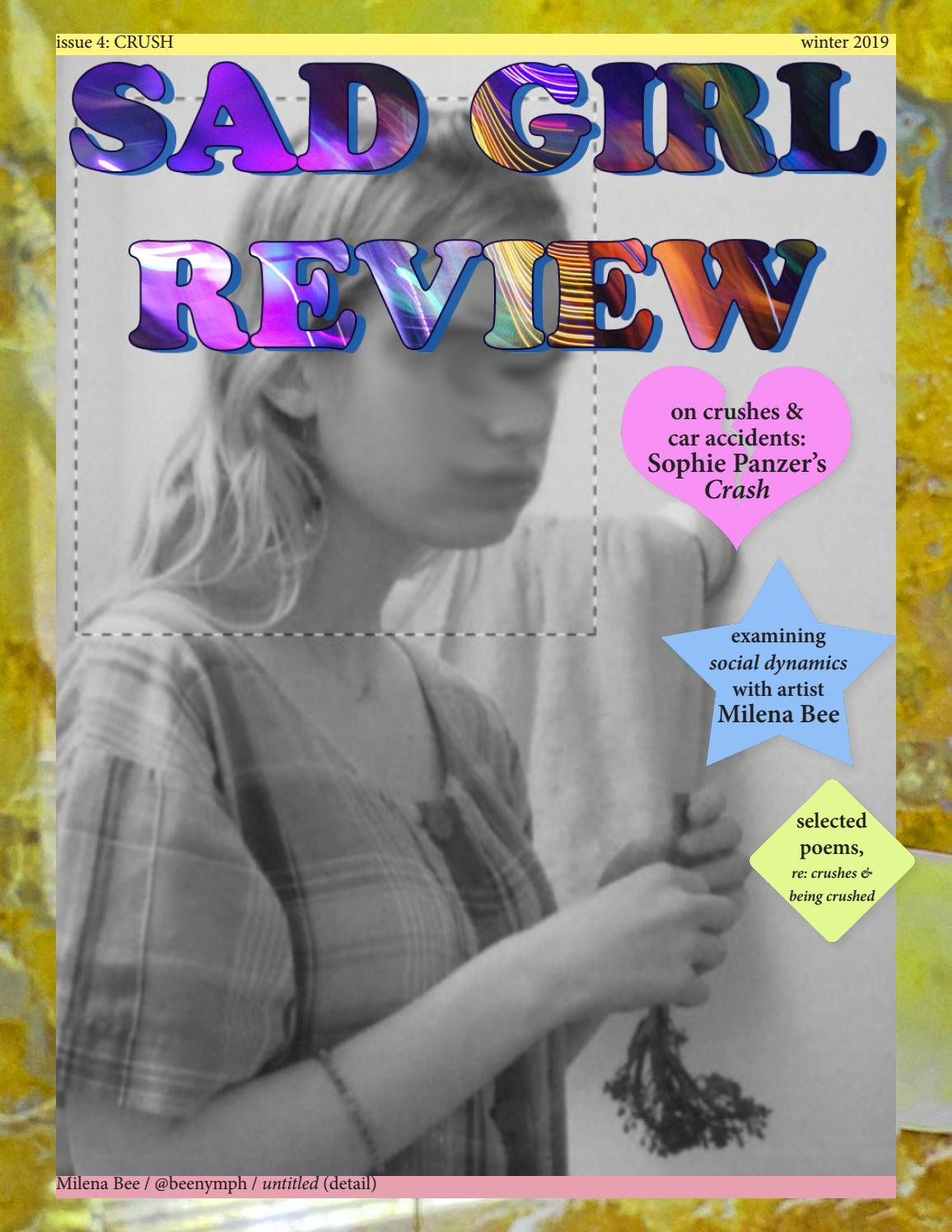 Sad Girl Review - Issue 4 - Crush By Sad Girl Review