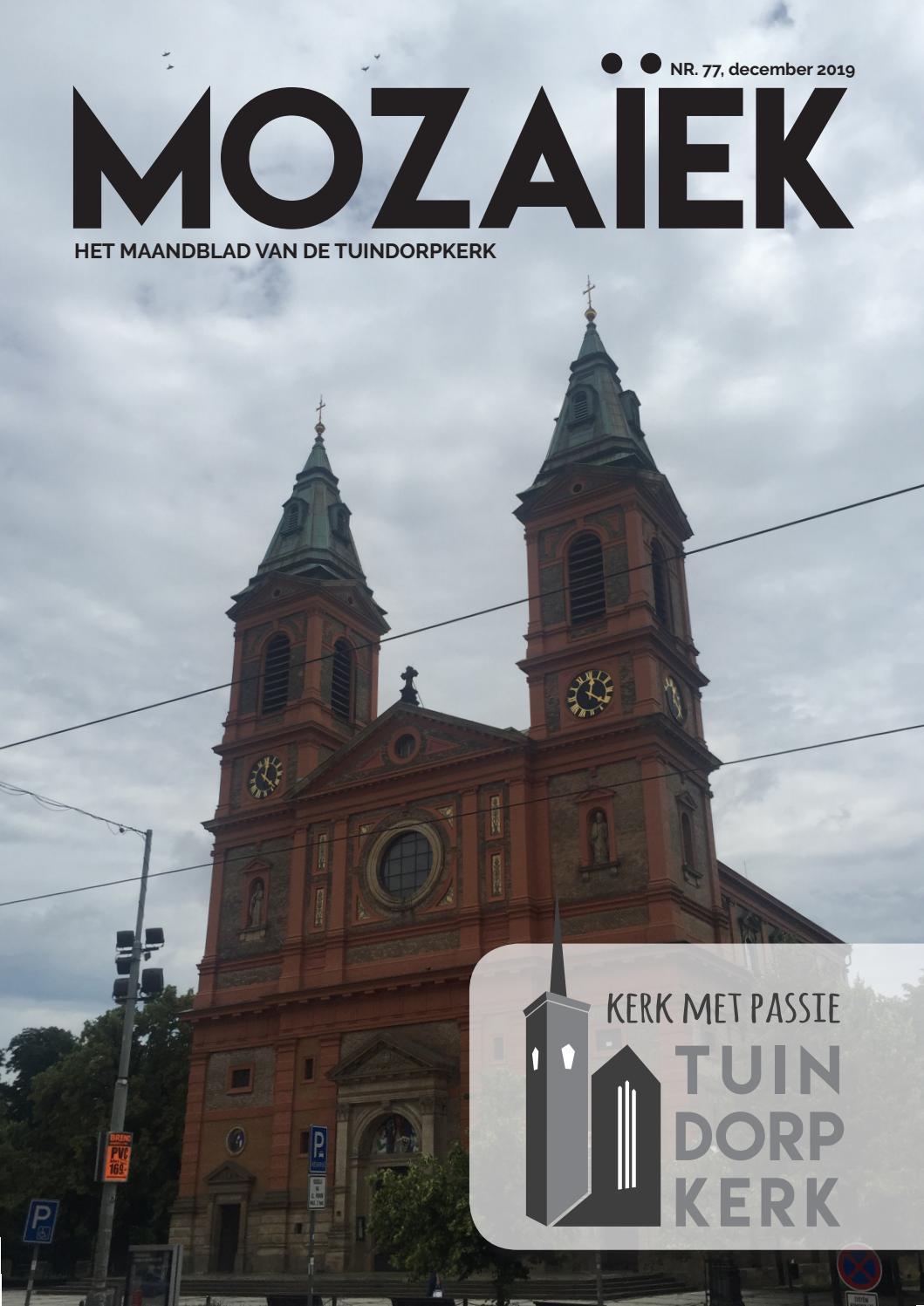 77 Mozaïek December 2019 By Tuindorpkerk Webmaster Issuu