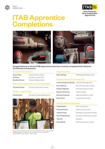 Page 44 of ITAB Apprentice Completions