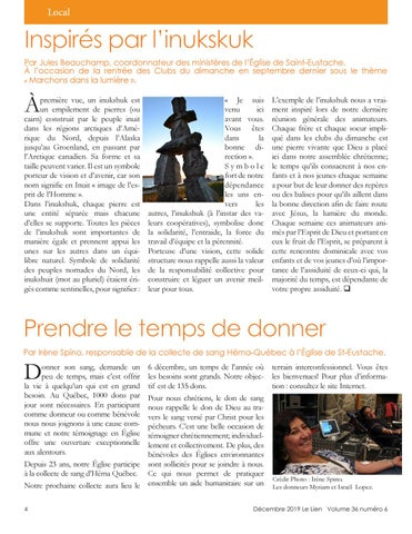 Page 4 of Prendre le temps de donner