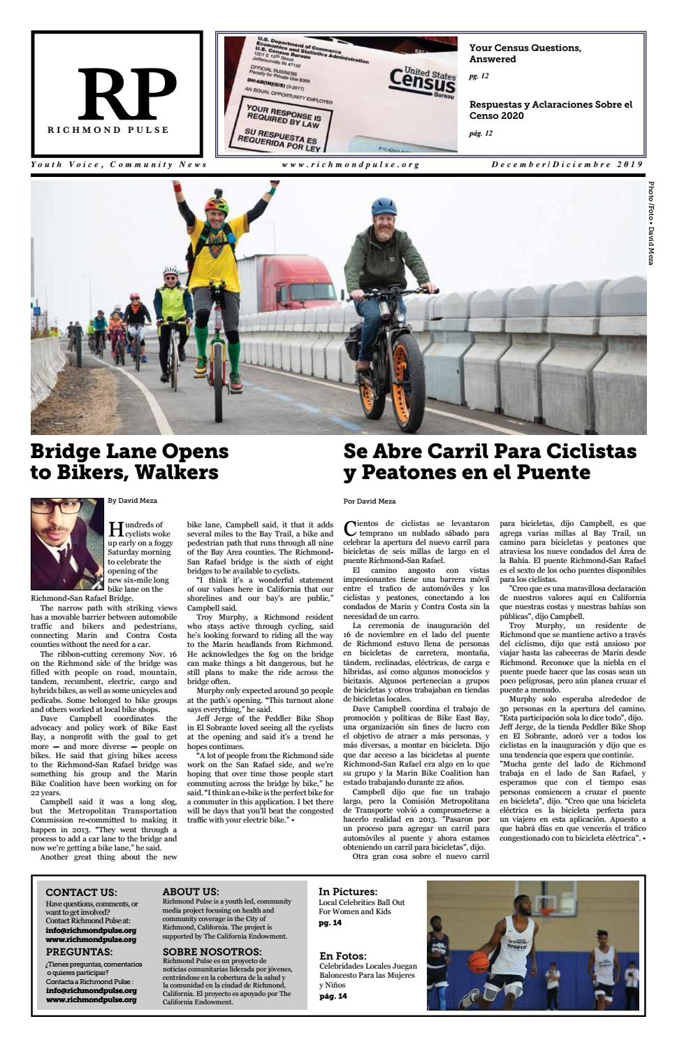 Richmond Pulse December 2019 Newspaper By Richmond Pulse Issuu