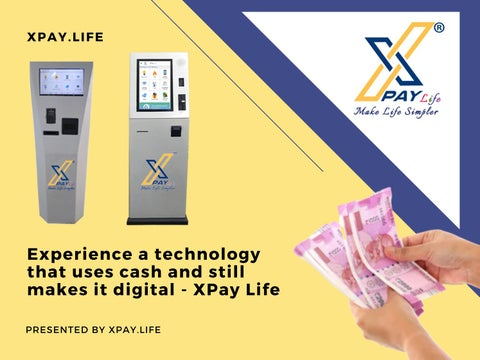 Page 1 of Cash Payment Machine