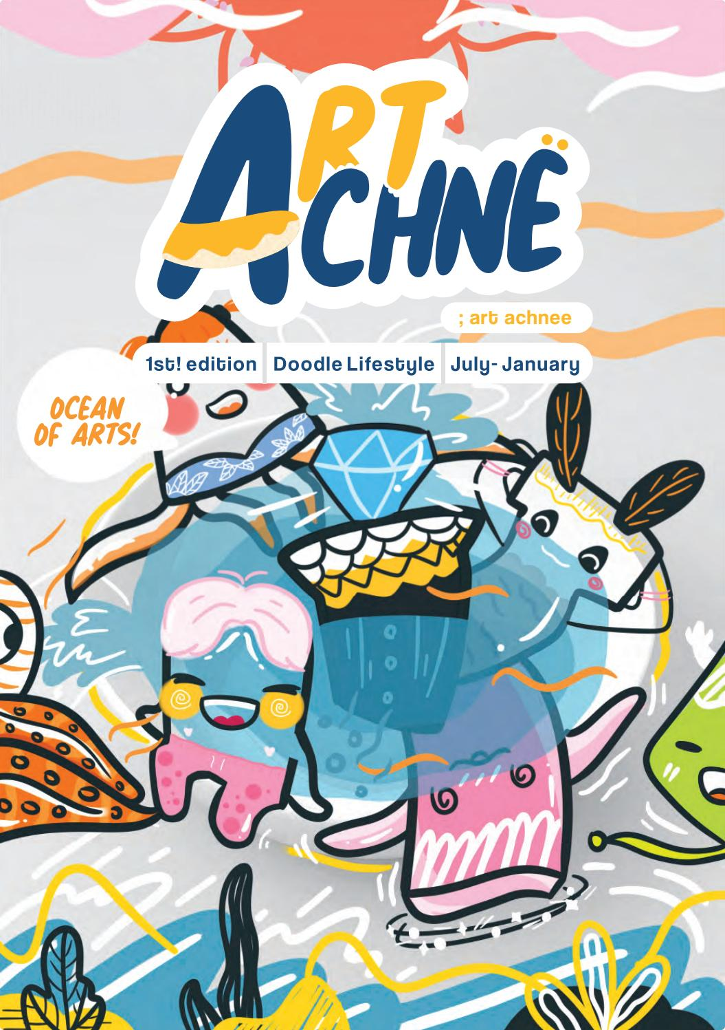 Artachne Doodle Magazine By Tamara Maulidya Issuu