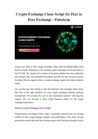 bitcoin exchange business model