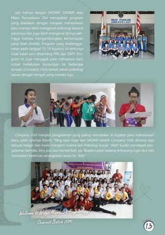 "Page 15 of PPK, SBPT, dan SADARI 2K19: ""We Are Center of Excellence"""