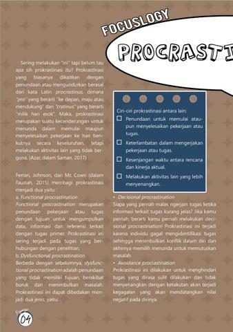 Page 6 of Prokrastinasi - Focuslogy