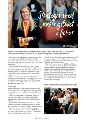 Page 20 of Strateger med näringslivet i fokus
