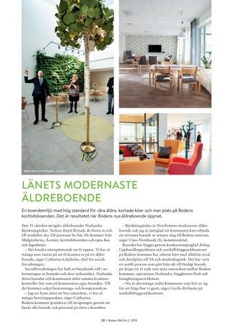 Page 23 of LÄNETS MODERNASTE ÄLDREBOENDE