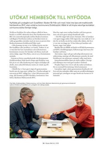 Page 26 of UTÖKAT HEMBESÖK TILL NYFÖDDA