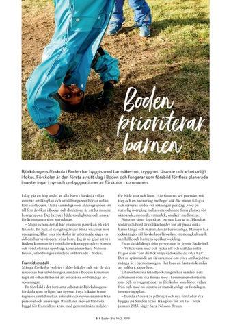 Page 6 of Boden prioriterar barnen