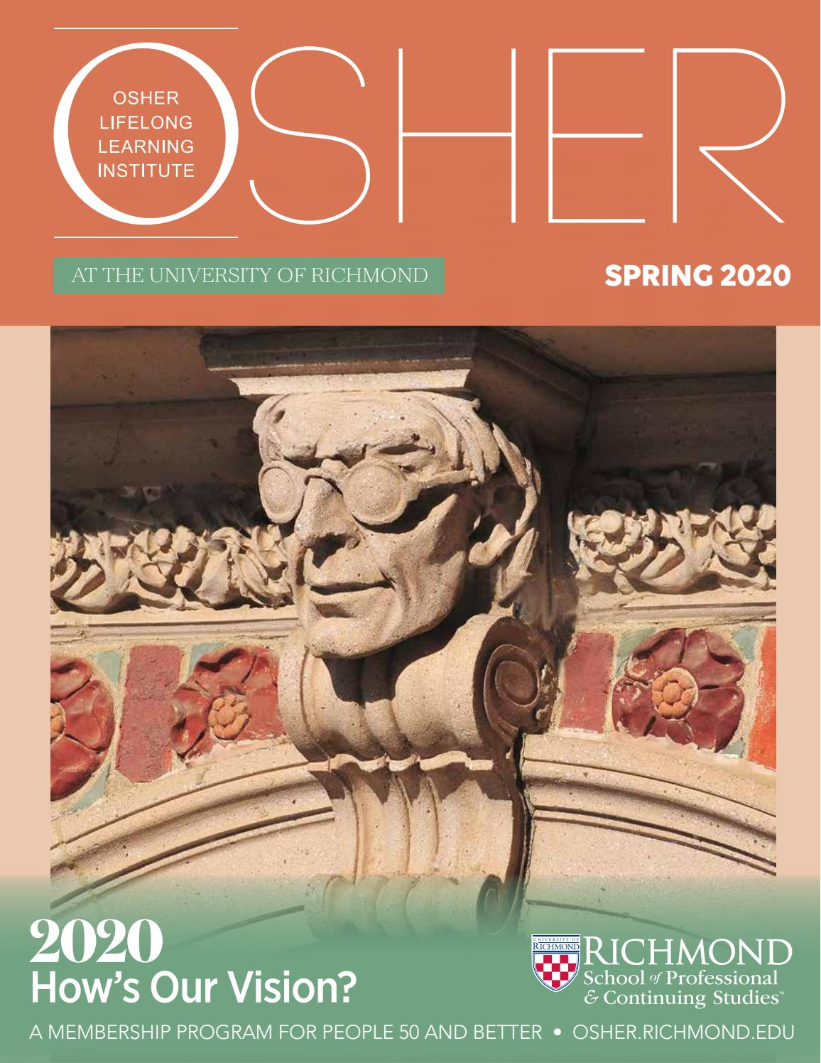 Civ 6 Spring Update 2020.Osher Spring 2020 By School Of Professional Continuing