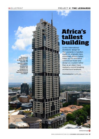 Page 17 of Africa's tallest building