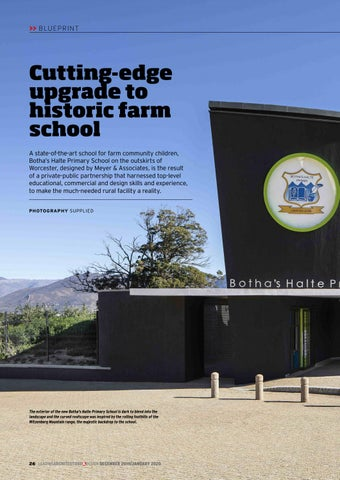 Page 26 of Cutting-edge upgrade to historic farm school