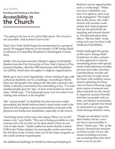 Page 14 of Jess Hoffert: Standing and Knocking at the Door: Accessibility and the Church