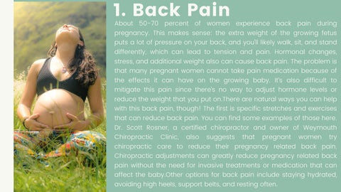 Page 3 of Common Pregnancy Symptoms and How You Can Help Them