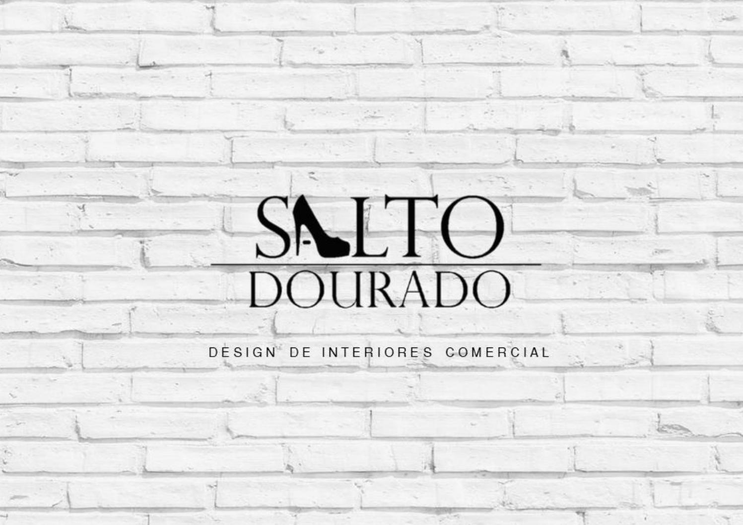 Loja Salto Dourado Design De Interiores Comercial By Natalia Salvatore Issuu