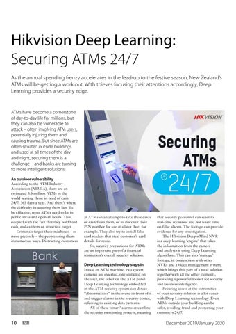 Page 10 of Hikvision Deep Learning: Securing ATMs 24/7
