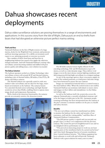 Page 23 of Dahua showcases recent deployments