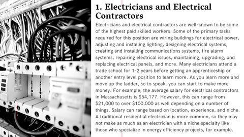 Page 3 of A List of Some of the Highest Paying Skilled Trades