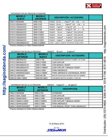 Page 9 of ▷ VÁLVULAS Y CONTROLES AUTOMÁTICOS - Rimsa Saginomiya - Página 09 - http://saginotienda.com/