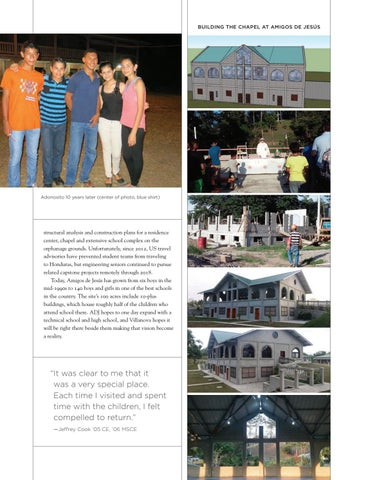 Page 23 of VILLANOVANS BUILT A CROSS AND PROVIDED HOPE IN HONDURAS