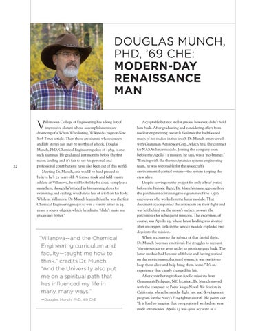Page 34 of DOUGLAS MUNCH, PHD, '69 CHE: MODERN-DAY RENAISSANCE MAN