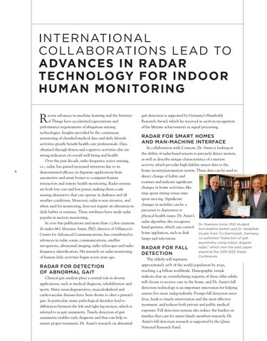 Page 8 of INTERNATIONAL COLLABORATIONS LEAD TO ADVANCES IN RADAR TECHNOLOGY FOR INDOOR HUMAN MONITORING