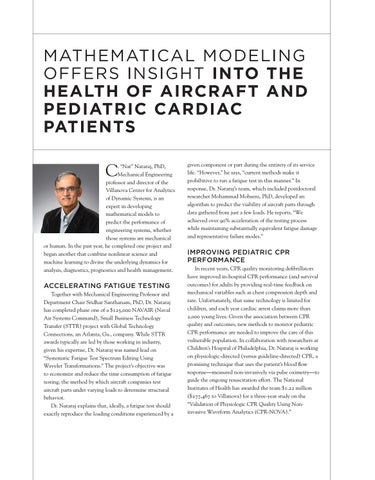 Page 9 of MATHEMATICAL MODELING OFFERS INSIGHT INTO THE HEALTH OF AIRCRAFT AND PEDIATRIC CARDIAC PATIENTS