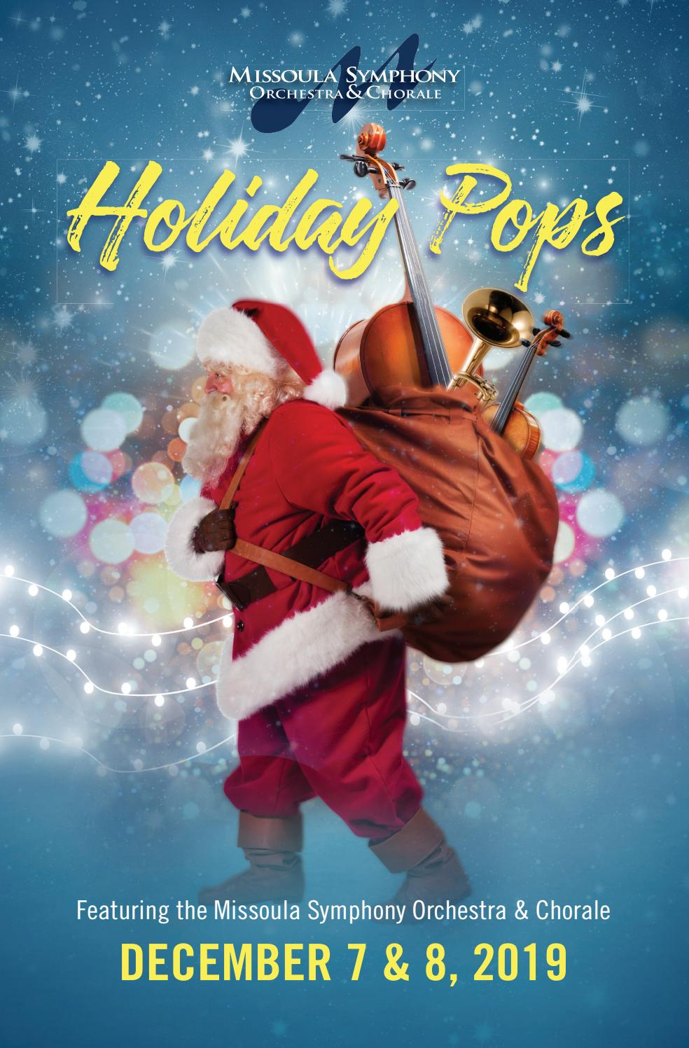 Christmas December Missoula 2020 Roxy Missoula Symphony December 2019 by Missoulian   issuu