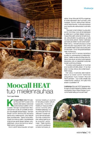 Page 15 of Moocall HEAT tuo mielenrauhaa