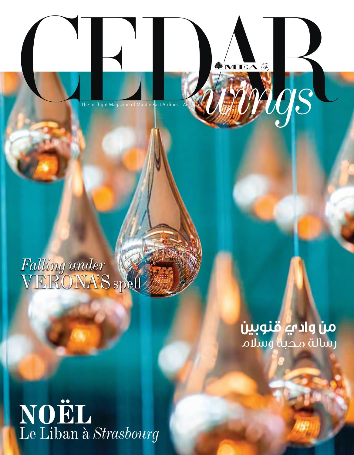 Magasin Accessoire Piscine Strasbourg cedar wings magazine. december 2019 - january 2020
