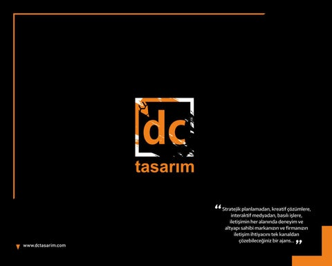 Page 1 of DC TASARIM
