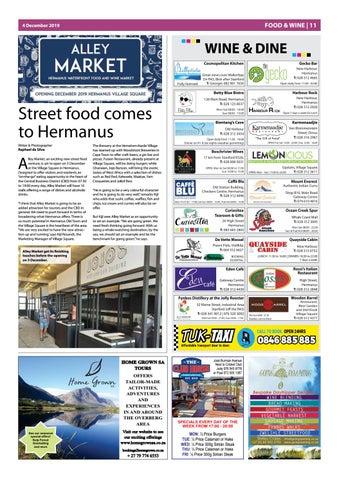 Page 11 of Street food comes to Hermanus