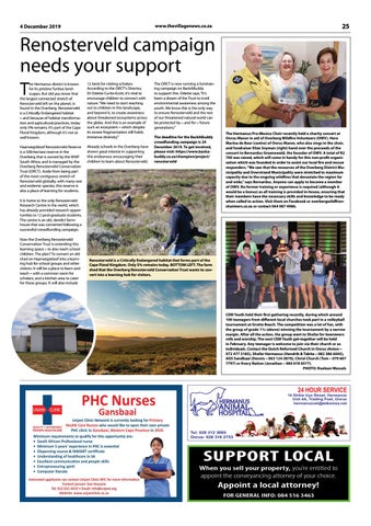 Page 25 of Support campaign for Renosterveld learning hub