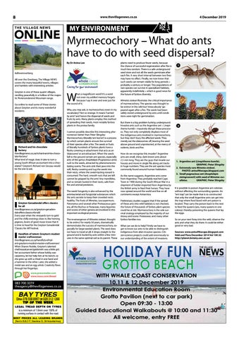 Page 8 of MYRMECOCHORY – What do ants have to do with seed dispersal?