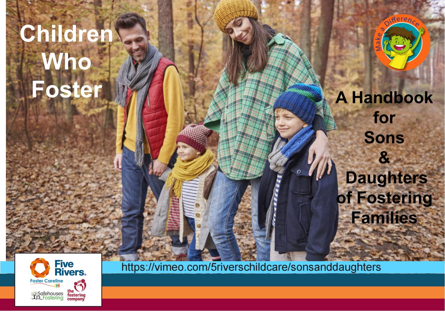 Five Rivers Sons and Daughters' Guide to Fostering