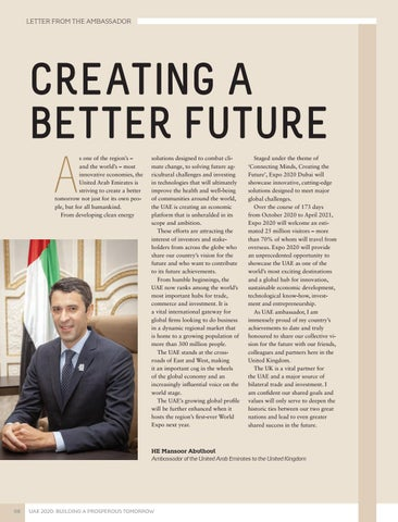 Page 8 of UAE 2020: Building a Prosperous Tomorrow