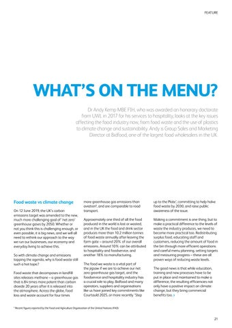 Page 23 of WHAT'S ON THE MENU?