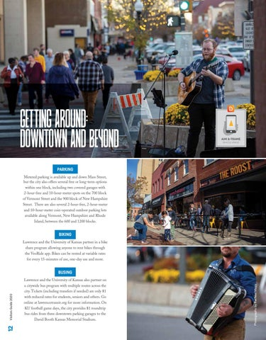 Page 12 of GETTING AROUND: DOWNTOWN AND BEYOND