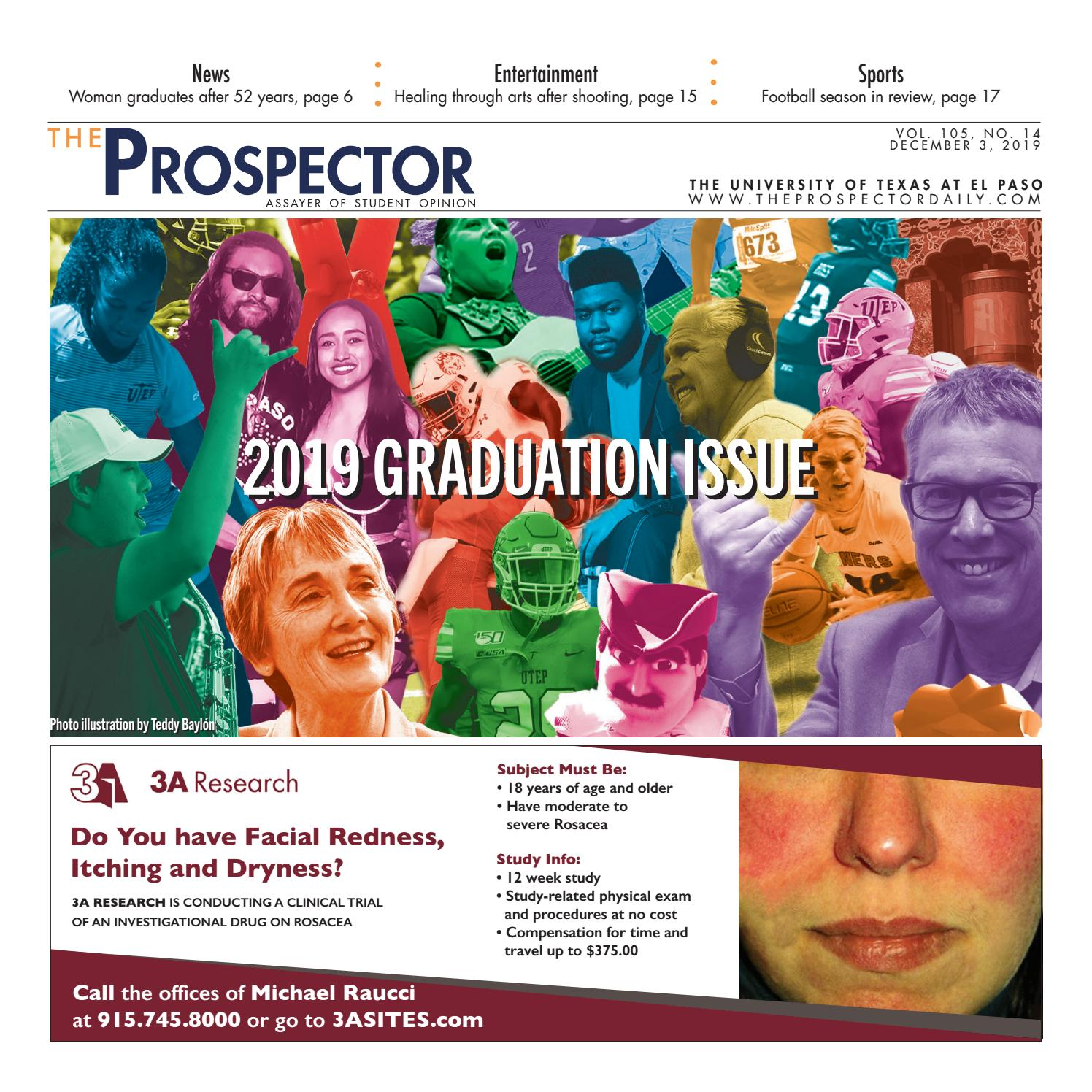 The Prospector 12 03 2019 By Utep Prospector Issuu