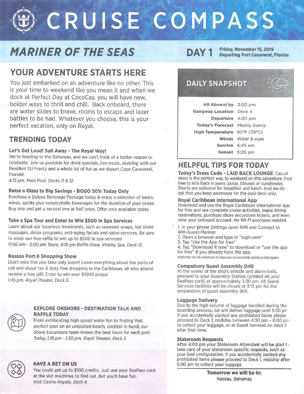 Mariner Of The Seas 3-night Bahamas & Perfect Day At